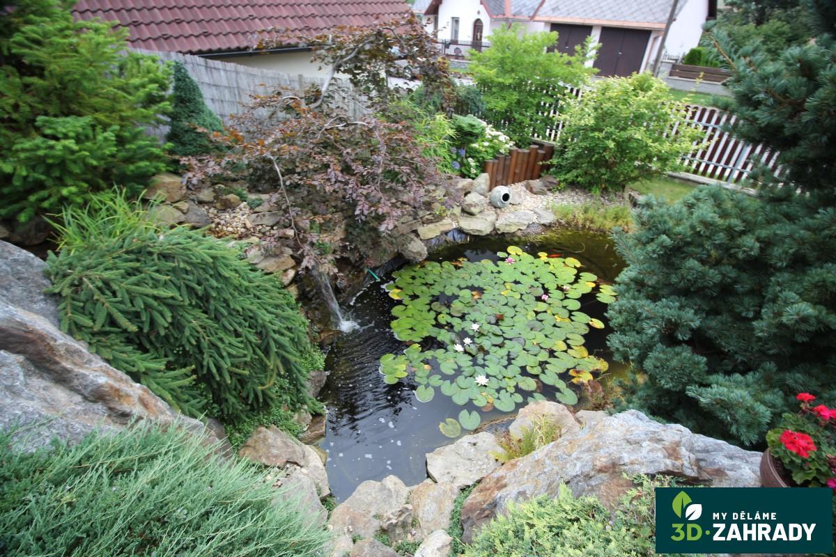 voda v zahradě okrasn 233 jez 237 rko fotogalerie realizace